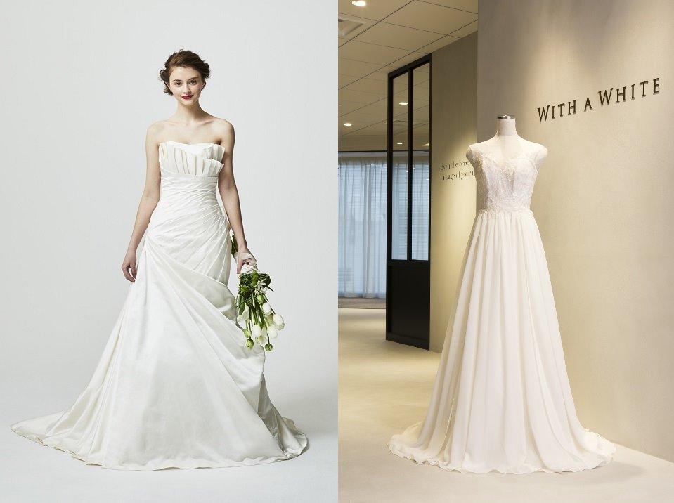 e45844b6f8c28 5月の店頭展示ドレスのご紹介~BYアールイズ・ウエディング~