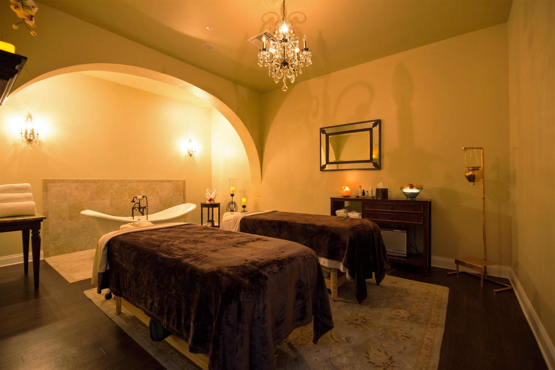 Beautifully appointed treatment rooms.