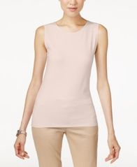 Image of Alfani Sleeveless Layering Tank Top, Created for Macy's