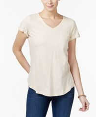 Image of Style & Co Cotton T-Shirt, Created for Macy's