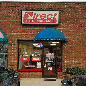 Front of Direct Auto store at 706 East Ash Street, Goldsboro