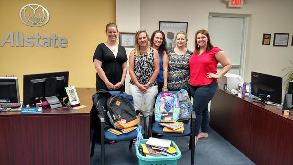 Greta Langley - Thank you to all that donated school supplies!