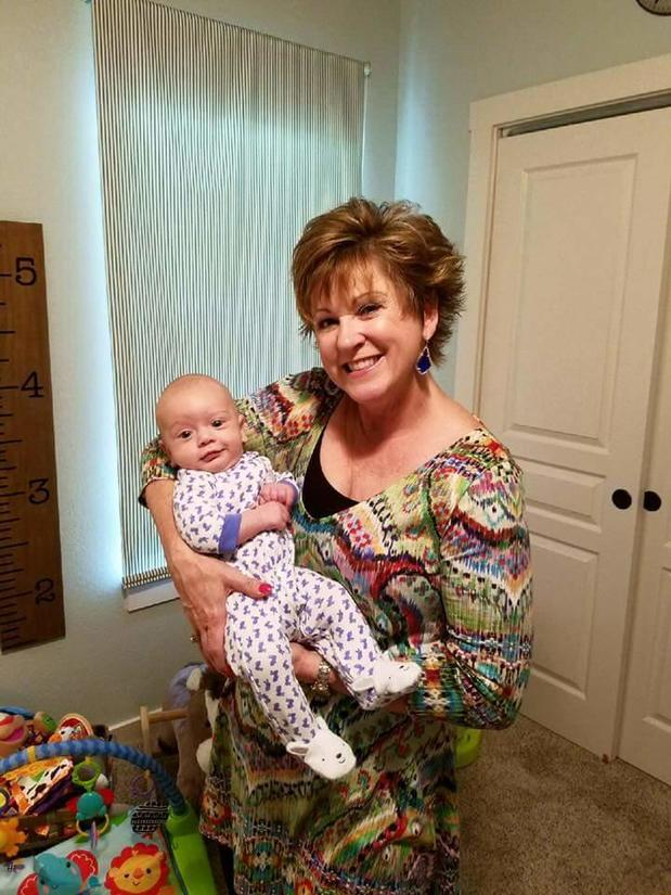 Janna enjoys spending all the time she can with her grandson Benjamin!