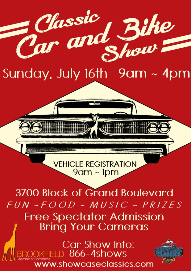 Brookfield Classic Car Show
