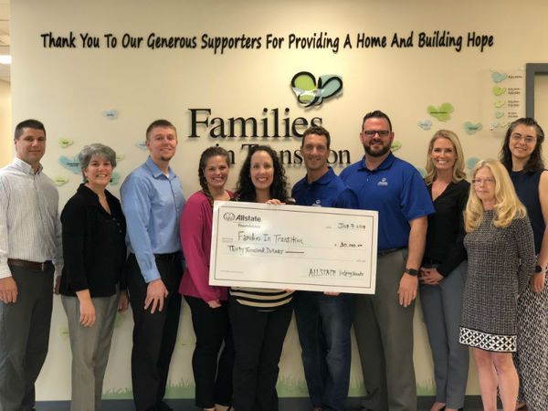 Scott Sherman - Allstate Foundation Helping Hands Grant for Families in Transition