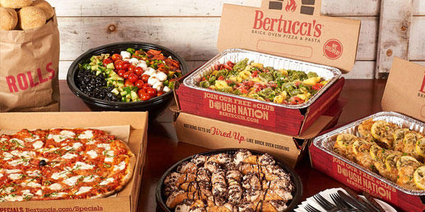 Order Holiday Catering from Bertucci's