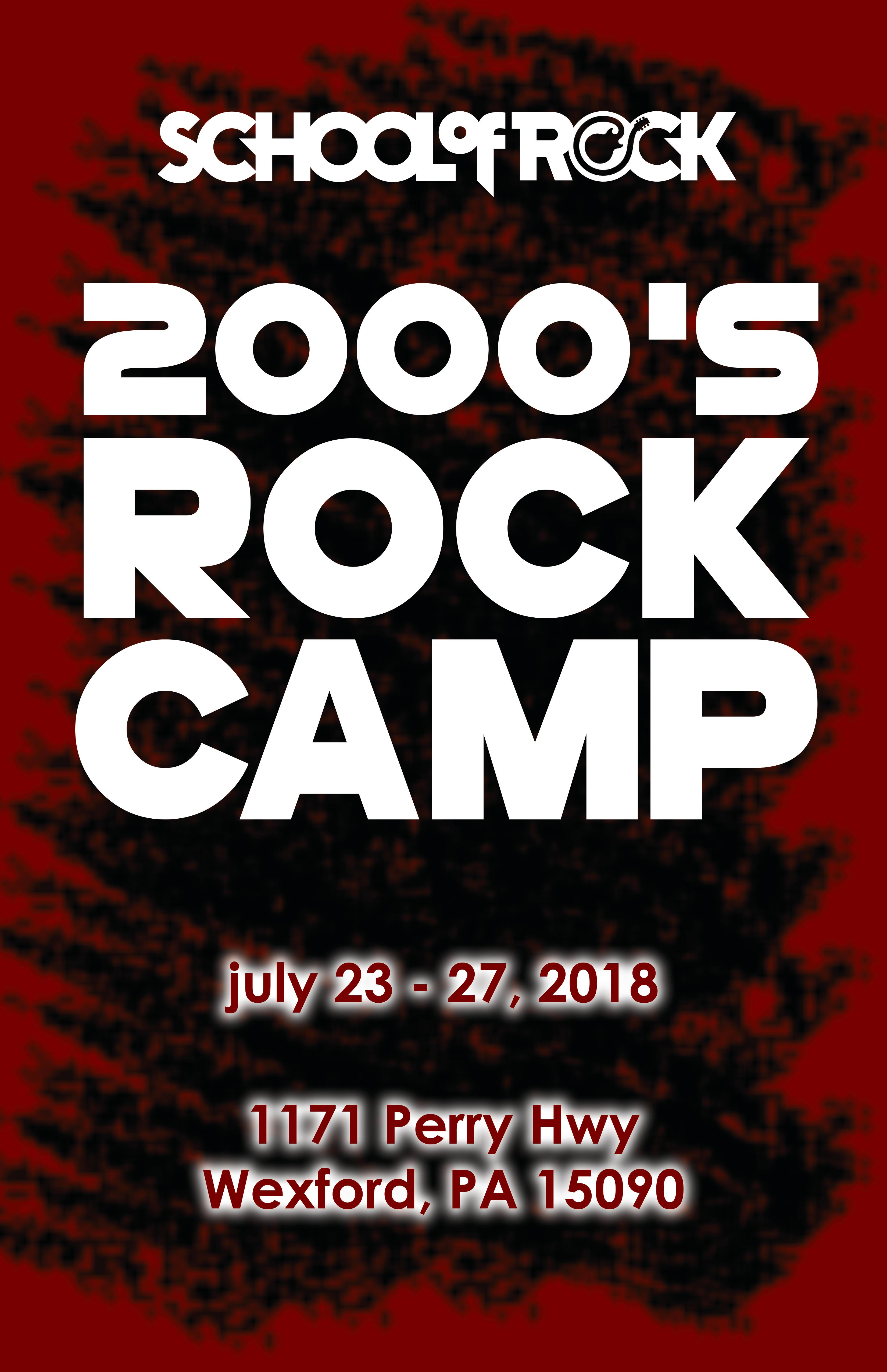 Image of 2000's Rock Camp!