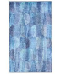 "Image of Nourison Watercolor Blue 27"" x 45"" Accent Rug"