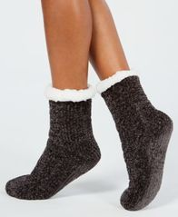 Image of Charter Club Chenille Slipper Socks, Created for Macy's