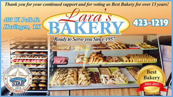 Proud to insure Lara's Bakery in Harlingen, TX!