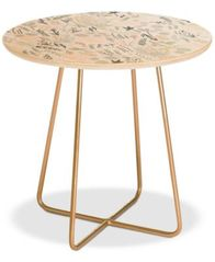 Image Of Deny Designs Floral Goodness Side Table