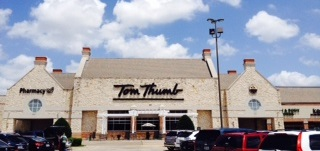 Tom Thumb Storefront Picture at 819 Arapaho Rd in Richardson TX