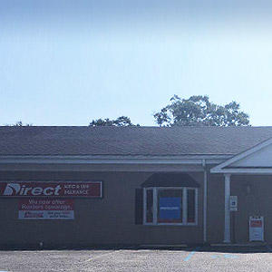 Front of Direct Auto store at 5500 Rivers Avenue, North Charleston