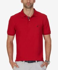 Image of Nautica Men's Classic-Fit Performance Deck Polo