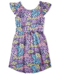 Image of Epic Threads Big Girls Printed Super-Soft Dress, Created for Macy's