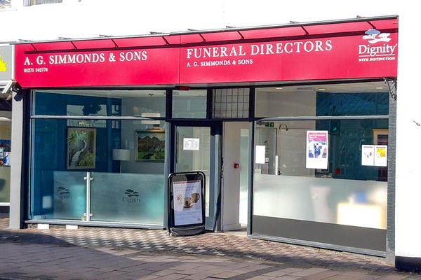 A G Simmonds & Sons Funeral Directors in Barnstaple