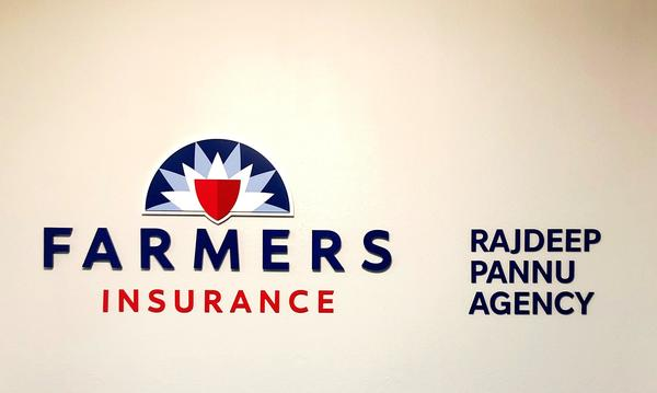 Logo for Farmers Insurance - The Rajdeep Pannu Agency
