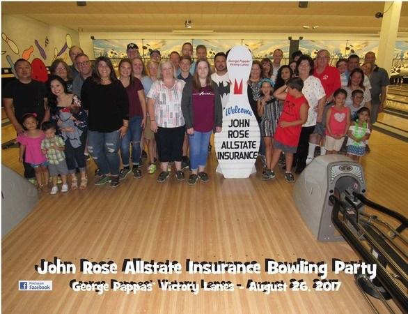 John Rose - Annual Bowling Event For Staff & Family