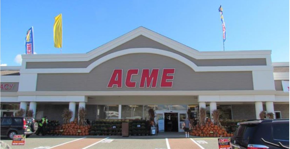 ACME Store Front Picture - 300 S Lenola Rd in Maple Shade NJ