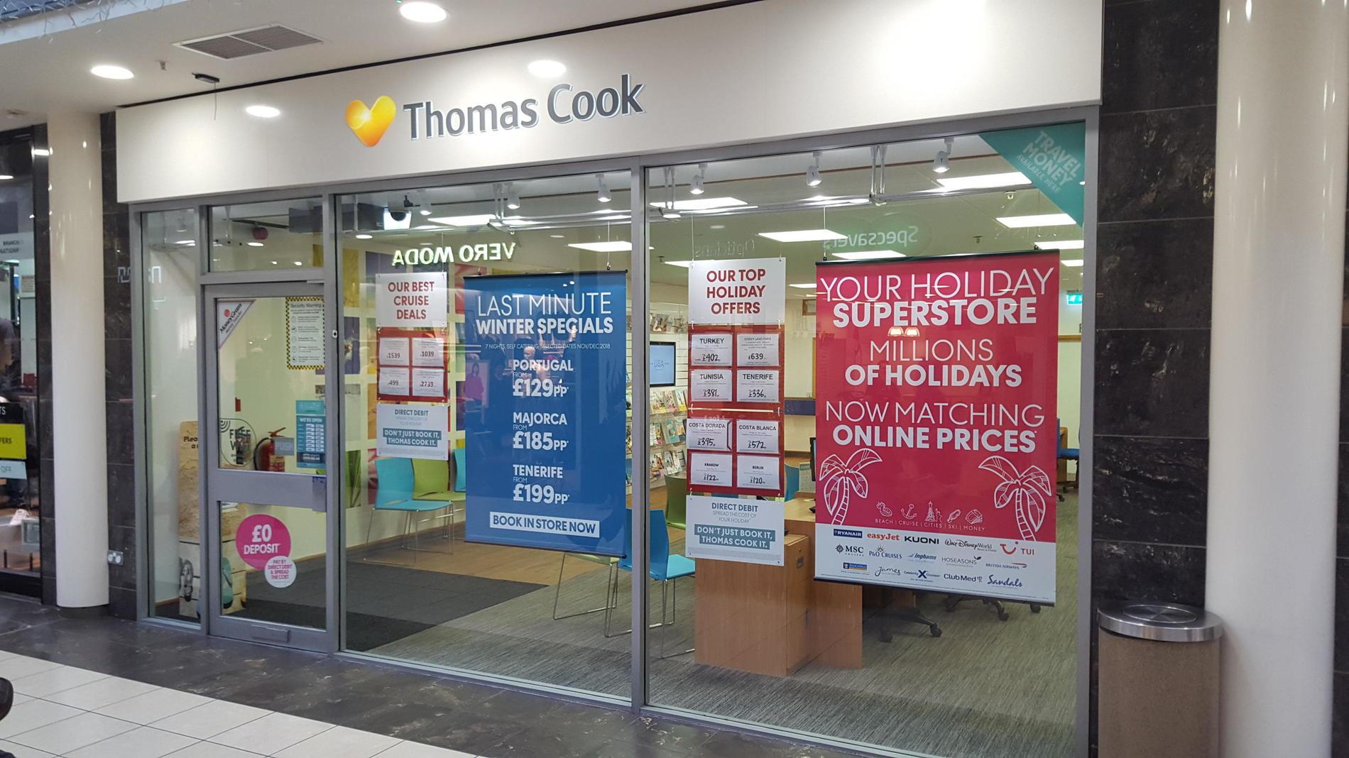 Thomas cook newry travel store thomas cook
