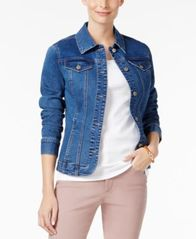 Image of Charter Club Denim Jacket, Created for Macy's