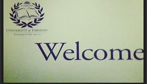 Welcome to the University of Farmers®!