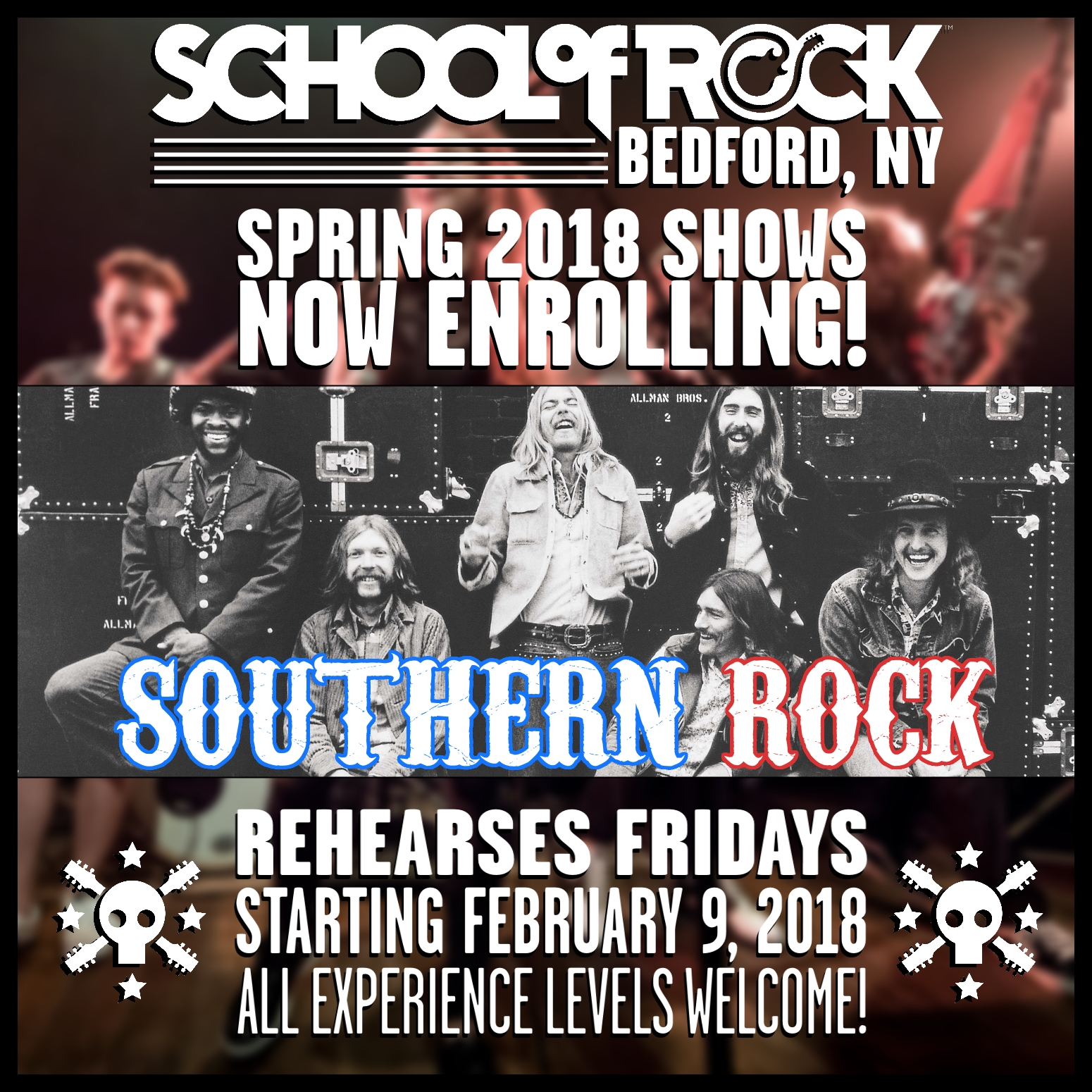 Image of SPRING 2018 SHOW #4: SOUTHERN ROCK