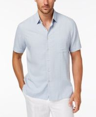 Image of Tasso Elba Men's Textured Shirt, Created for Macy's