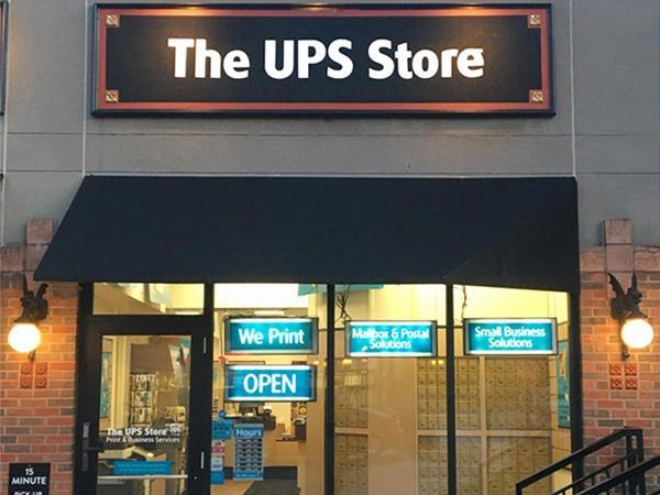 Image of the store front of The UPS Store 1782