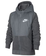 Image of Nike Big Boys Zip-Up Hoodie