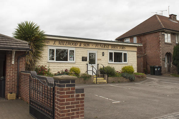J Millwood & Son Funeral Directors in Doncaster Road, Mexborough