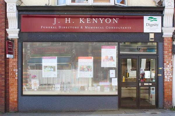 J H Kenyon Funeral Directors in North Finchley, London, Dignity Funerals