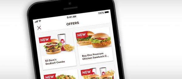 Download the Wendy's app