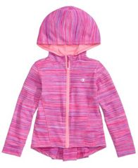 Image of Champion Peplum Zip-Up Hoodie, Little Girls (4-6X)