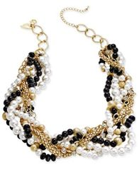 Image of Thalia Sodi Chain-Link Statement Necklace, Created for Macy's