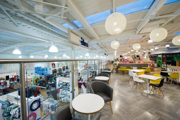 Mothercare Solihull cafe