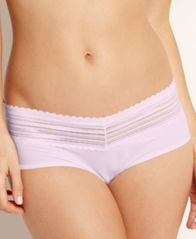 Image of Warner's No Pinching No Problems Lace Hipster Panty 5609J
