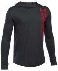 Image of Under Armour Two-Tone UA Tech™ Hooded Shirt, Big Boys (8-20)