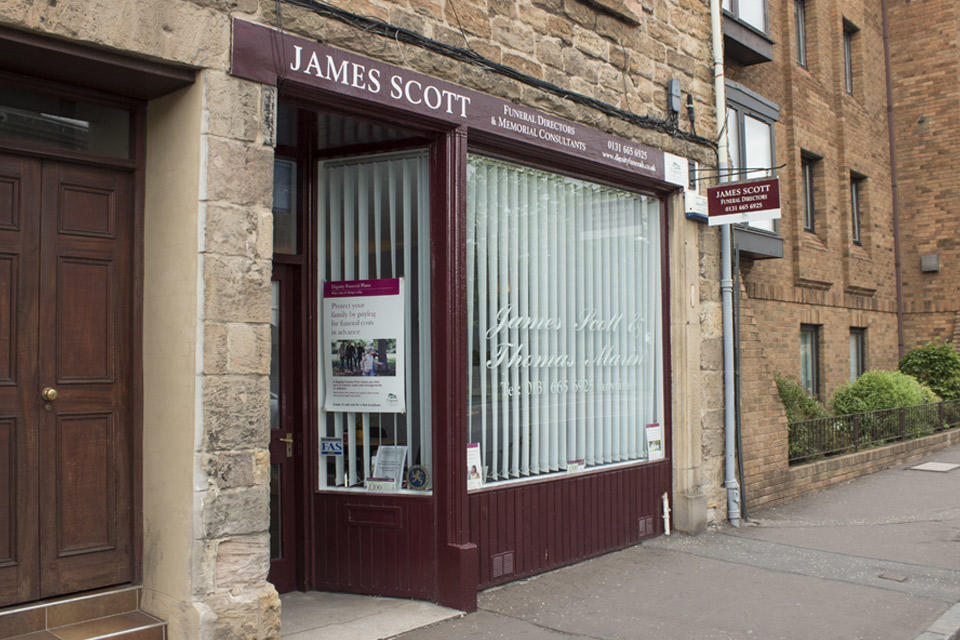 James Scott Funeral Directors in Musselburgh, Edinburgh