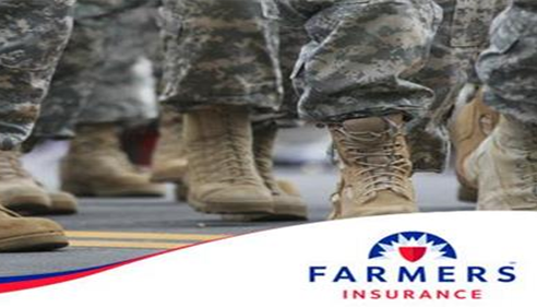 Farmers® Insurance has been a long-time supporter of hiring military veterans.