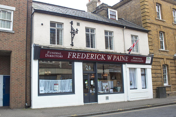 Frederick W Paine Funeral Directors in Kingston
