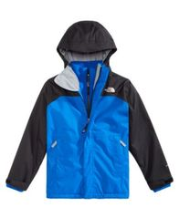 Image of The North Face Big Boys Vortex Hooded Triclimate Jacket