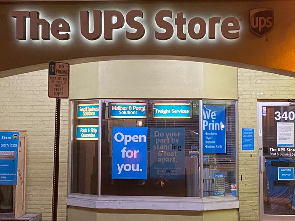 Facade of The UPS Store Us 41