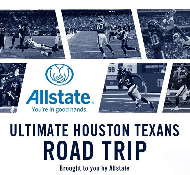 Jackie Harris - Win A VIP Trip To A 2017 Texans Road Game!