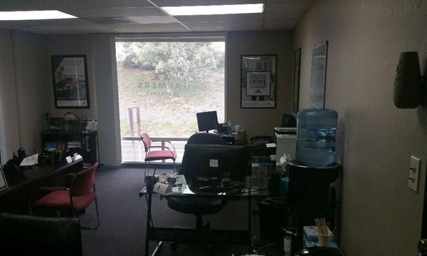 Full view of the office! Water, coffee and tea always available for visiting customers!