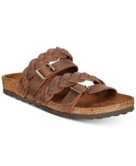 Image of White Mountain Holland Braided Footbed Slip-on Sandals