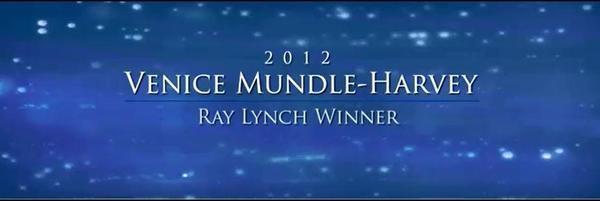 Venice Mundle-Harvey - Congratulations Venice!   Allstate's 2012 Ray Lynch Winner!