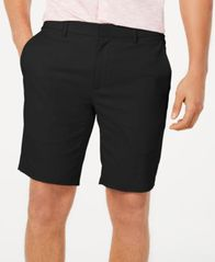 "Image of Alfani Men's AlfaTech Stretch Waistband 9"" Shorts, Created for Macy's"
