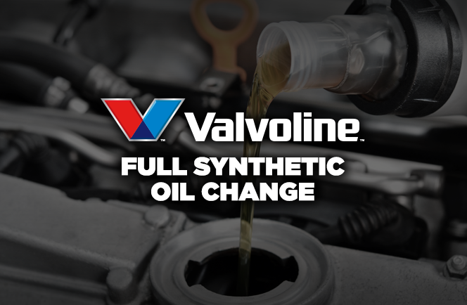 Valvoline Full Synthetic Oil Change