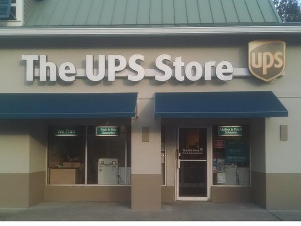 Exterior storefront image of The UPS Store #2978 in Pawleys Island, SC